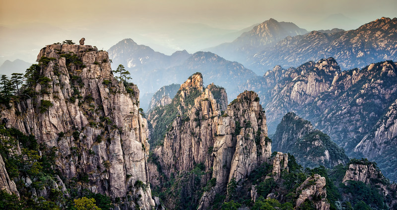 Yellow Mountains, Huangshan, Anhui Province, China #2
