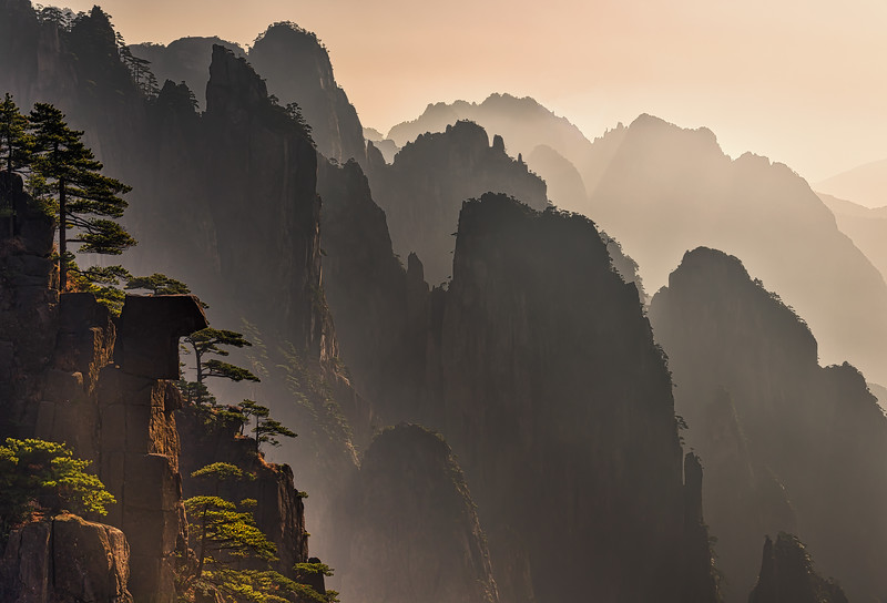 Yellow Mountains, Huangshan, Anhui Province, China #1