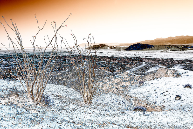 Anza-Borrego Badlands (Solarized Rendition)