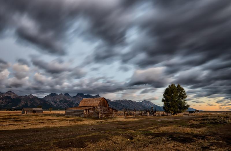 Teton's Mormon Barns