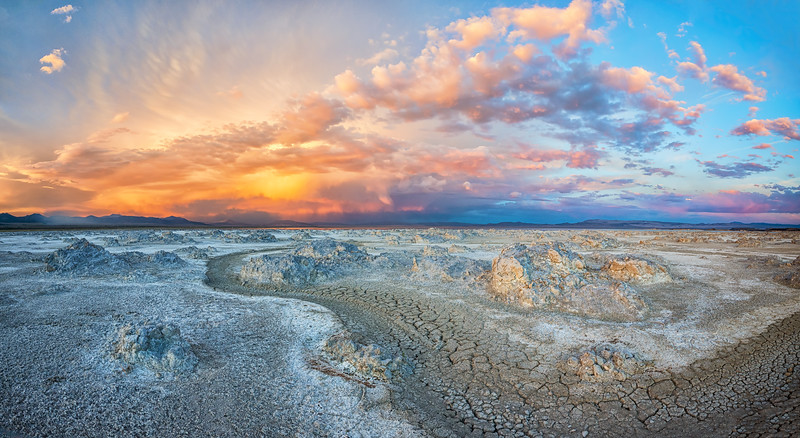 North Mono Lake Sunset #1