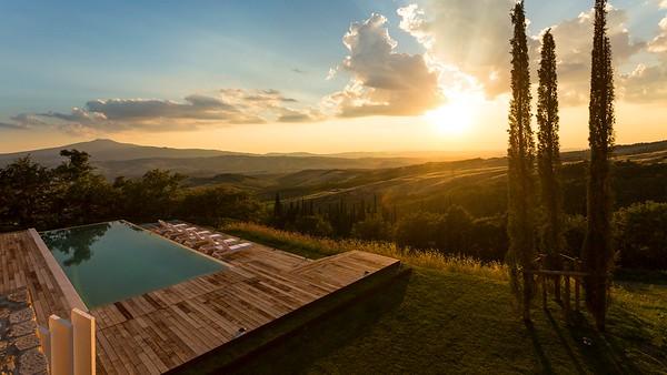 Val d' Orcia; Tuscany, Italy