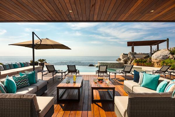 Patio; Esperanza, an Auberge Resort, Los Cabos, Mexico
