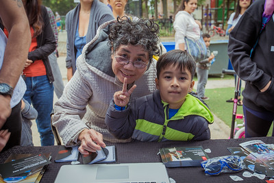 78th Street Play Street Plaza, 2016_10_08, Block Party, Jackson Heights, John Lennon Birthday Block Party, New York, NY, Public Tours & Tents