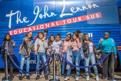 2016_10_13, Martin Van Buren High School, New York, NY, Peace sign, Queens