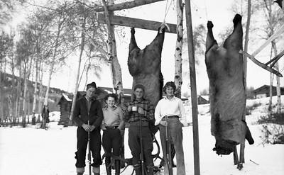Colorado hunting trip. 1930s?