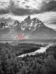 Tetons, Snake River Overlook