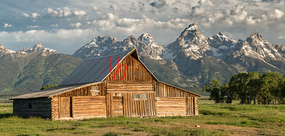 Multon Barn, Grand Teton National Park