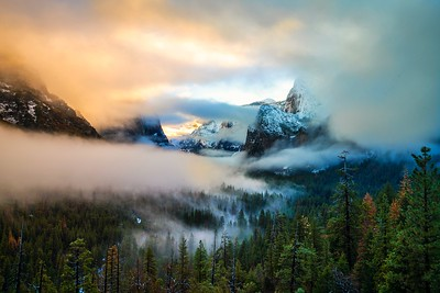Amazing Grace Yosemite! Epic Yosemite Winter Sunrise