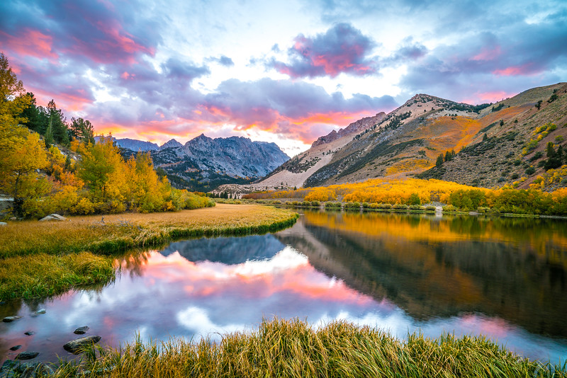 Epic High Sierras California Autumn Symphony