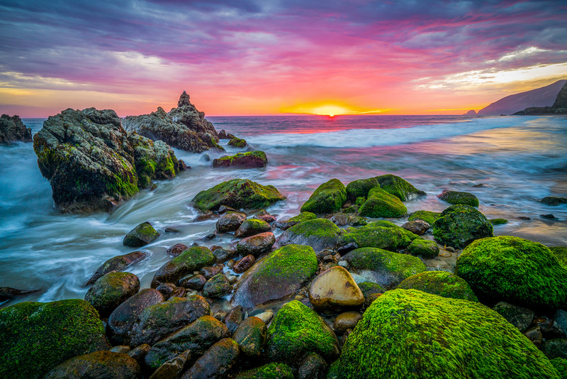 Eternity's Rainbow Sunset, Malibu