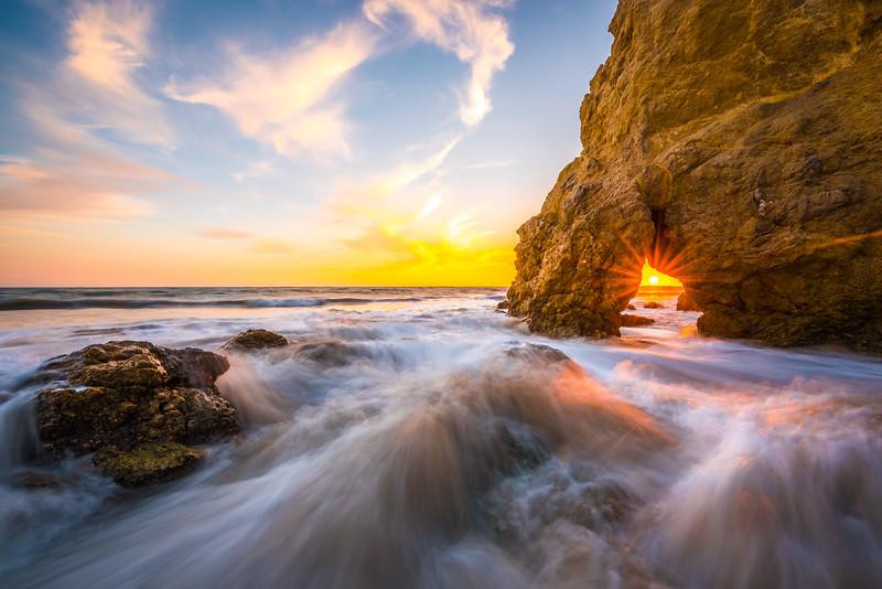 Winter Wink: Epic Malibu Sunset