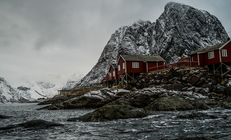 "The ""Lofoten Island Shot"""