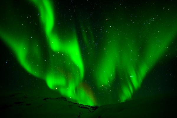 Sky of Green Fire
