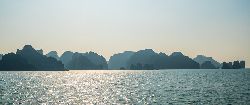 Layers of Bai Tu Long Bay