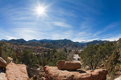 Manitou Springs skyline