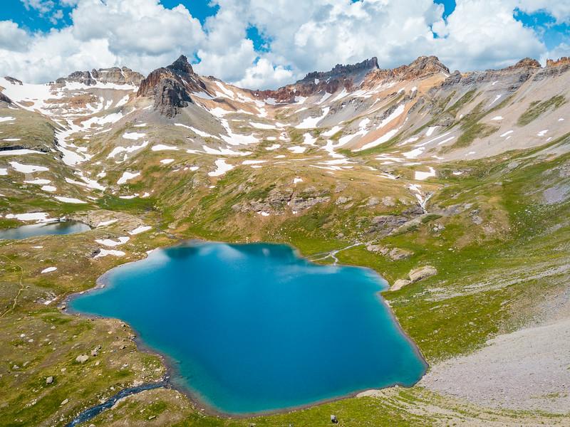 Frankieboy Photography - Ice Lakes Drone