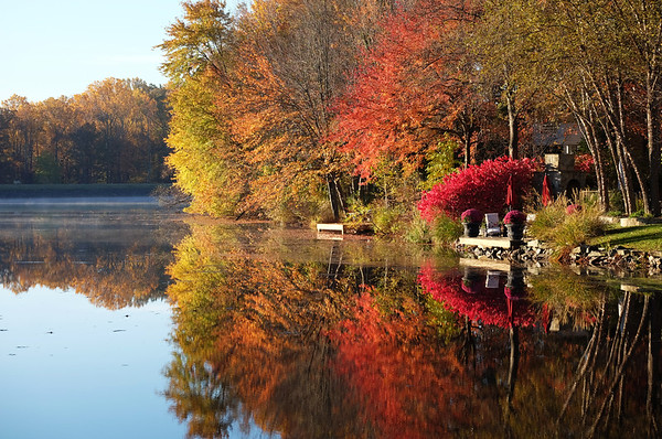 Lake Newport fall