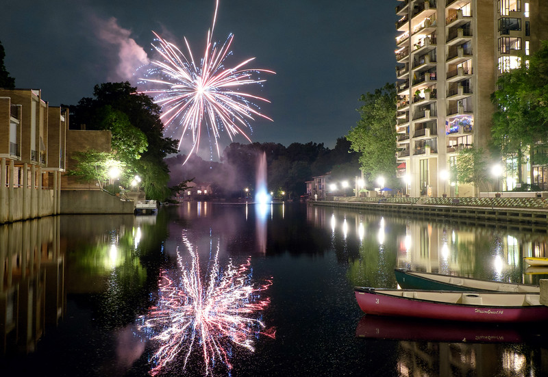 Fourth of July at Lake Anne