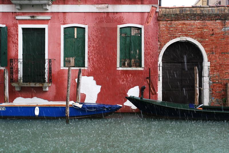 Venice rain