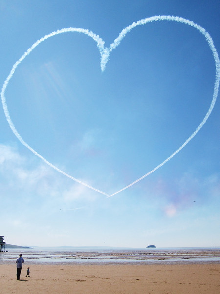 Red Arrows heart
