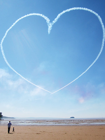 Red Arrows heart