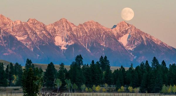 Steeples Moon Rise (horizontal)