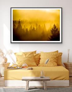 'Misty Sunrise' Fine Art Print Framed/Unframed