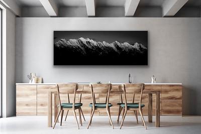 'Steeples' Canvas Wrap or Float Mount Metal Print