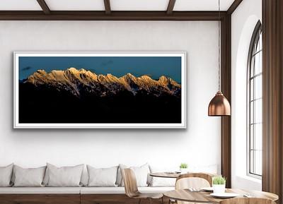 'Steeples Sun Set' Fine Art Print Framed/Unframed