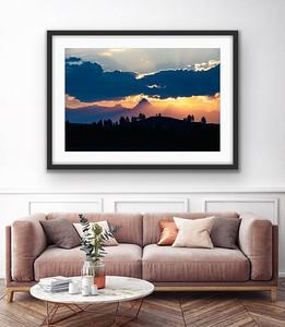 Fisher Sunrise Archival Framed/Unframed Print