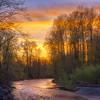 Cedar River Sunset