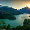 Diablo Lake Sunset