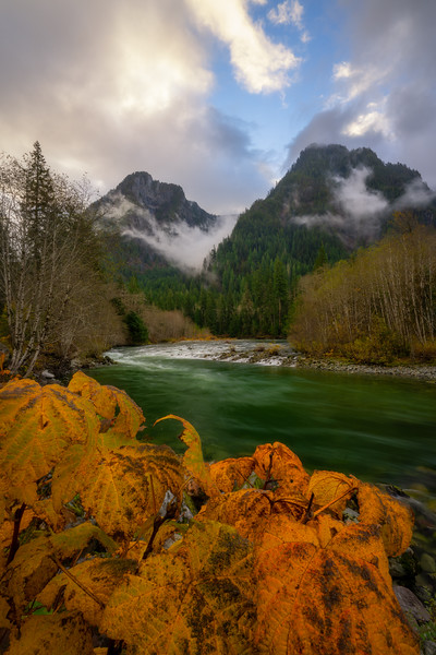 Middle Fork Autumn Moods