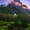 Barclay Lake: Deep Woods Sunset