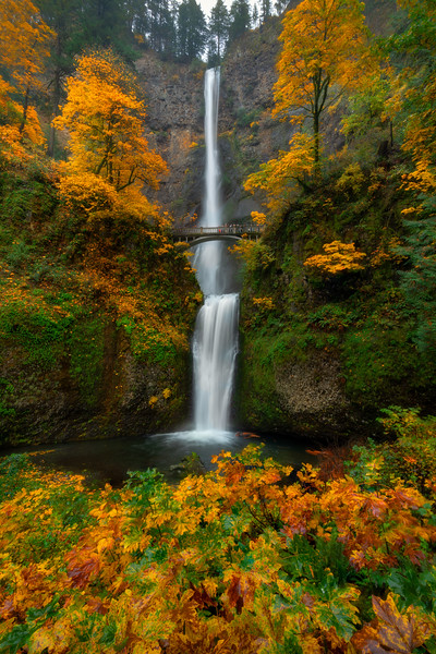 October Multnomah Falls Dream