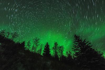 Aurora Borealis in Lakeland