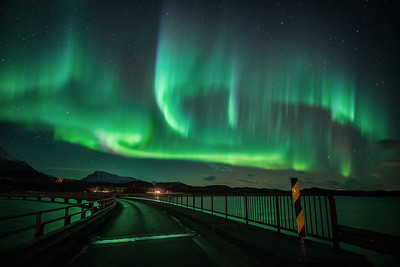 Engeløya bridge light