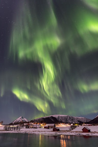 Crazy Ålstad Aurora Borealis
