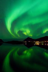 Preskona aurora borealis