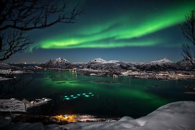 Jamtfjell aurora borealis