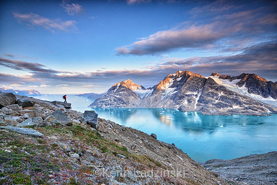 Above the Fjords - Greenland