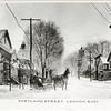 Cortland Street, looking East, Groton, NY. (Photo ID: 45321)