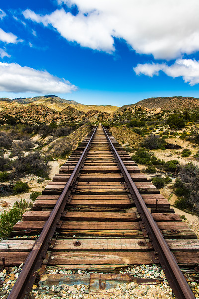 Abandon Track, California Desert