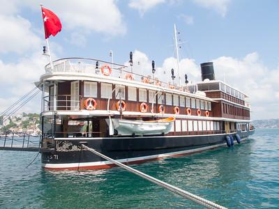 Boats on the Bosphorus