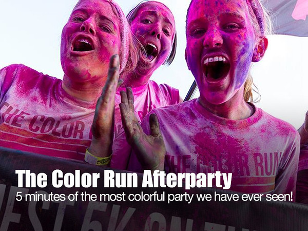 The Color Run 2013 - Afterparty 640x480