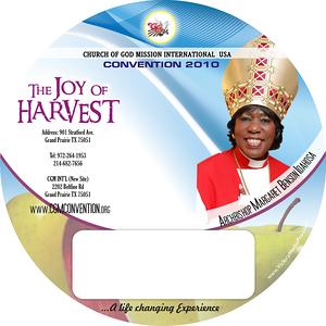 Archbishop Margaret CD Labels 2