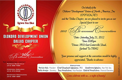 Olokoro Union Special Invite web
