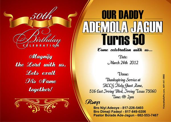Dr Ade invite 2