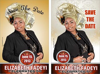 Elizabeth Fadeyi Save the Date